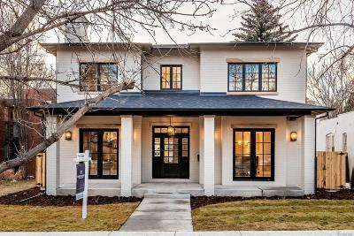 Denver Single Family Home Under Contract: 471 South Gilpin Street