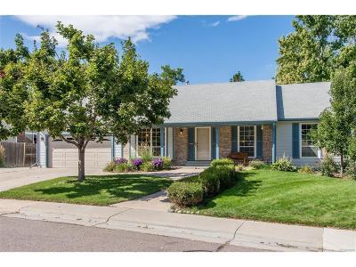 Littleton Single Family Home Active: 591 East Nichols Drive