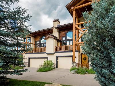 Steamboat Springs CO Condo/Townhouse Active: $650,000