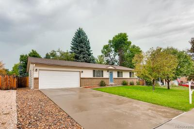 Littleton Single Family Home Under Contract: 5887 West Ken Caryl Place