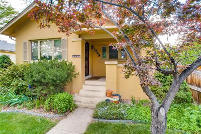 Denver Single Family Home Active: 1949 South Emerson Street