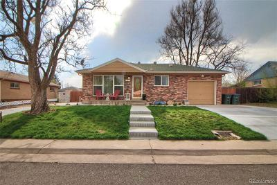 Northglenn Single Family Home Under Contract: 10873 Pearl Court