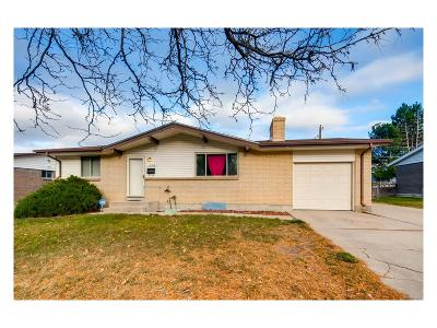 Aurora Single Family Home Active: 12503 East Alaska Avenue