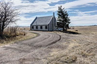 Kiowa Single Family Home Active: 8556 Highway 86