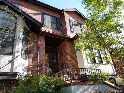 Denver Condo/Townhouse Active: 1290 North High Street #C