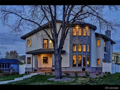 Denver Single Family Home Active: 2548 South Madison Street