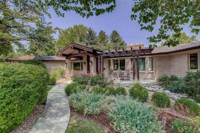 Denver Single Family Home Under Contract: 3880 South Dahlia Street