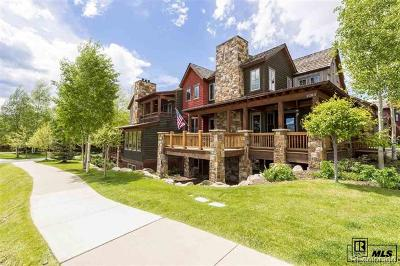Steamboat Springs Condo/Townhouse Active: 2053 Indian Summer Drive