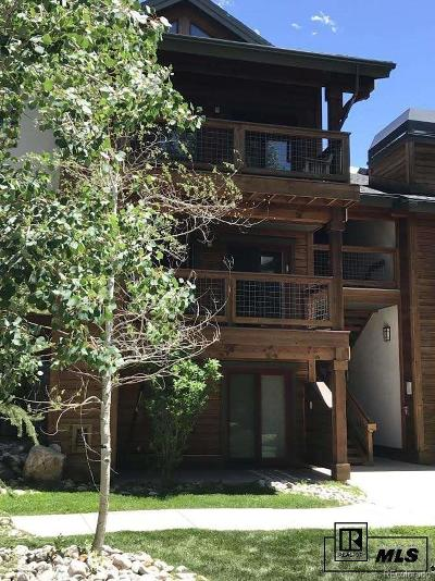 Steamboat Springs Condo/Townhouse Active: 360 Ore House Plaza #204