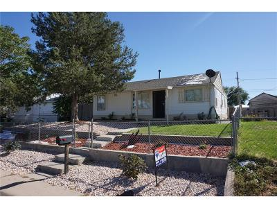 Commerce City Single Family Home Active: 7090 Garden Lane