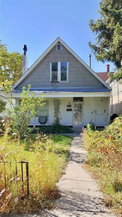 Denver Single Family Home Active: 1767 South Logan Street