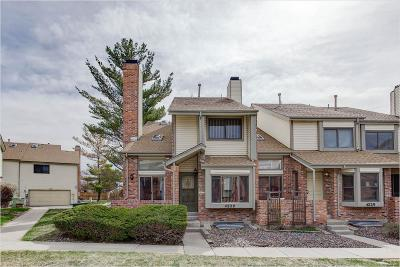 Aurora Condo/Townhouse Under Contract: 4229 South Granby Way #A