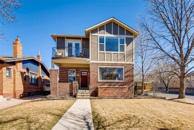 Denver CO Single Family Home Active: $1,075,000