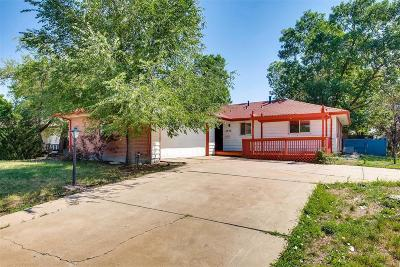 Denver Single Family Home Active: 2698 South Jasmine Street