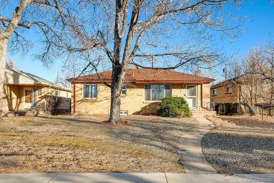 Denver Single Family Home Active: 3634 Holly Street