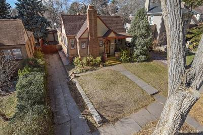 Denver Single Family Home Active: 1637 Filbert Court