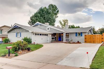 Denver Single Family Home Active: 3810 South Fenton Street
