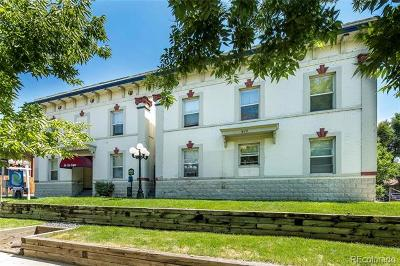 Denver Condo/Townhouse Active: 610 North Logan Street #16