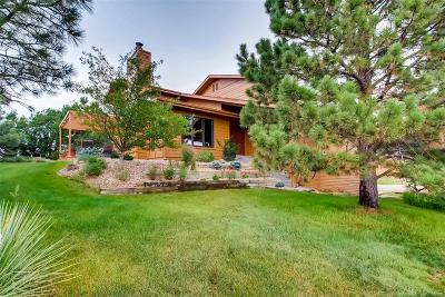 Castle Rock Single Family Home Under Contract: 8351 North Pinewood Drive