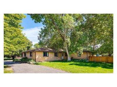 Niwot Single Family Home Under Contract: 7322 Meadowdale Drive