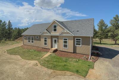 Elbert County Single Family Home Active: 24347 County Road 77