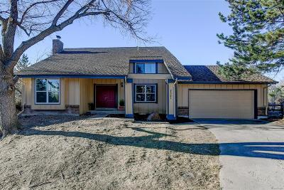 Centennial Single Family Home Under Contract: 7521 South Ulster Place