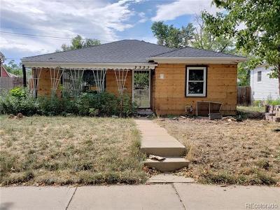Denver Single Family Home Active: 2323 South Acoma Street