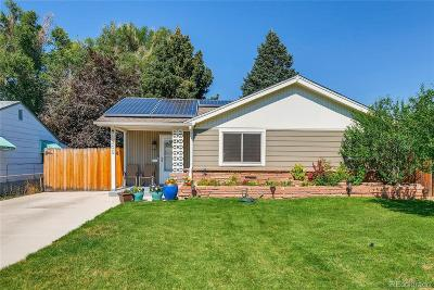 Denver Single Family Home Active: 1305 South Wolff Street