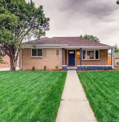 Denver CO Single Family Home Active: $585,000