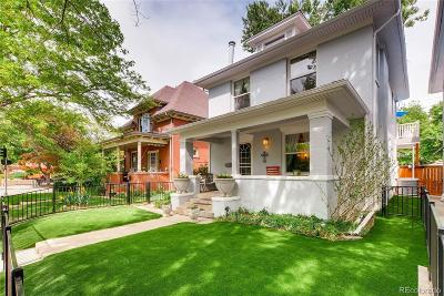 Denver Single Family Home Active: 858 North Downing Street