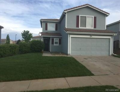 Denver Single Family Home Active: 21488 East 41st Place