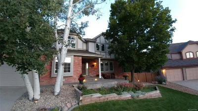 Centennial Single Family Home Under Contract: 5552 South Kittredge Street