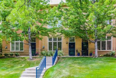 Denver Condo/Townhouse Under Contract: 275 Rampart Way #202