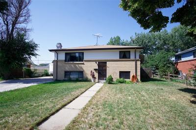 Aurora Single Family Home Under Contract: 13491 Fitzsimons Way