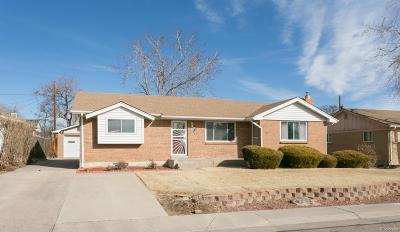 Northglenn Single Family Home Under Contract: 11340 Corona Drive