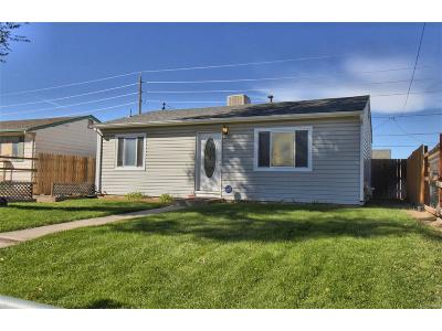 Commerce City Single Family Home Under Contract: 7841 Hollywood Street