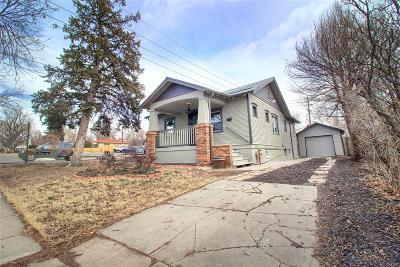 Edgewater Single Family Home Under Contract: 2596 Fenton Street