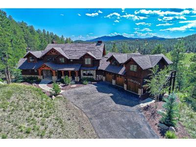 Evergreen Single Family Home Active: 1858 Kerr Gulch Road