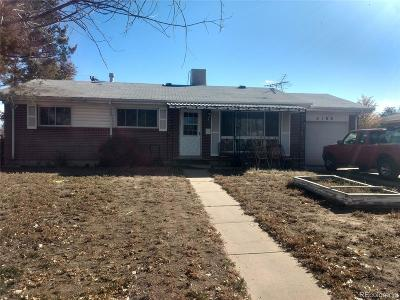 Adams County Single Family Home Active: 3188 Racine Street