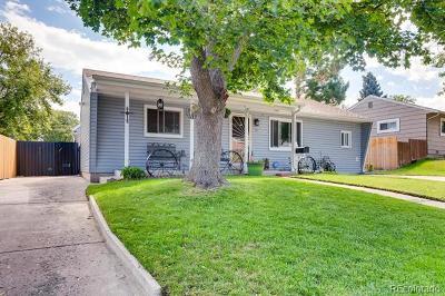 Denver Single Family Home Active: 1816 South Newton Street