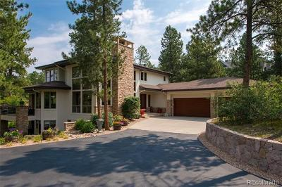 Castle Pines Single Family Home Active: 967 Country Club Parkway