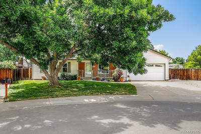 Westminster Single Family Home Under Contract: 9355 Balsam Court