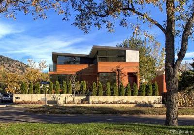 Boulder Condo/Townhouse Active: 303 Canyon Boulevard #A