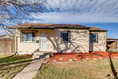 Thornton Single Family Home Under Contract: 3081 Eppinger Boulevard