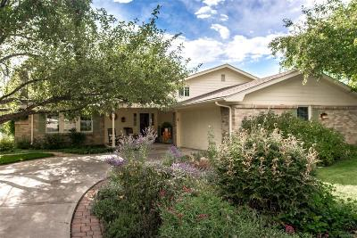 Centennial Single Family Home Under Contract: 7019 South Steele Street