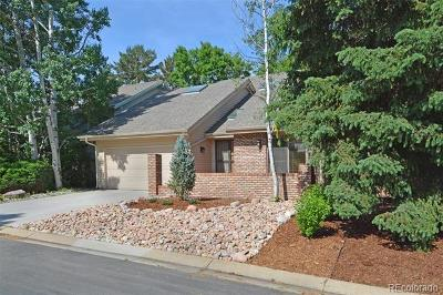 Boulder Single Family Home Under Contract: 7104 Cedarwood Circle