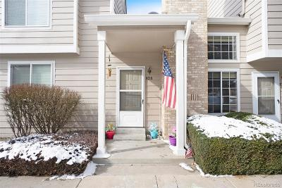 Highlands Ranch Condo/Townhouse Under Contract: 828 Summer Drive #4-D
