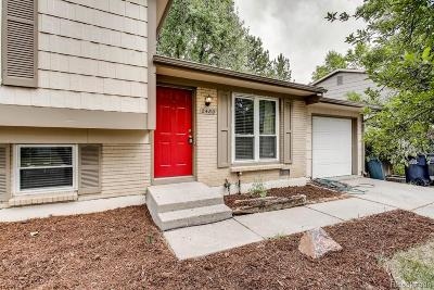 Aurora Single Family Home Under Contract: 2480 South Kittredge Way