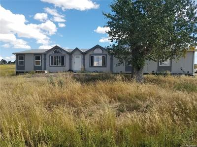 Elbert County Single Family Home Under Contract: 39255 Private Road 17