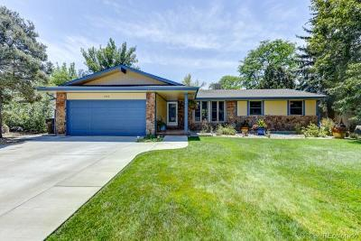 Boulder Single Family Home Under Contract: 7800 Durham Way